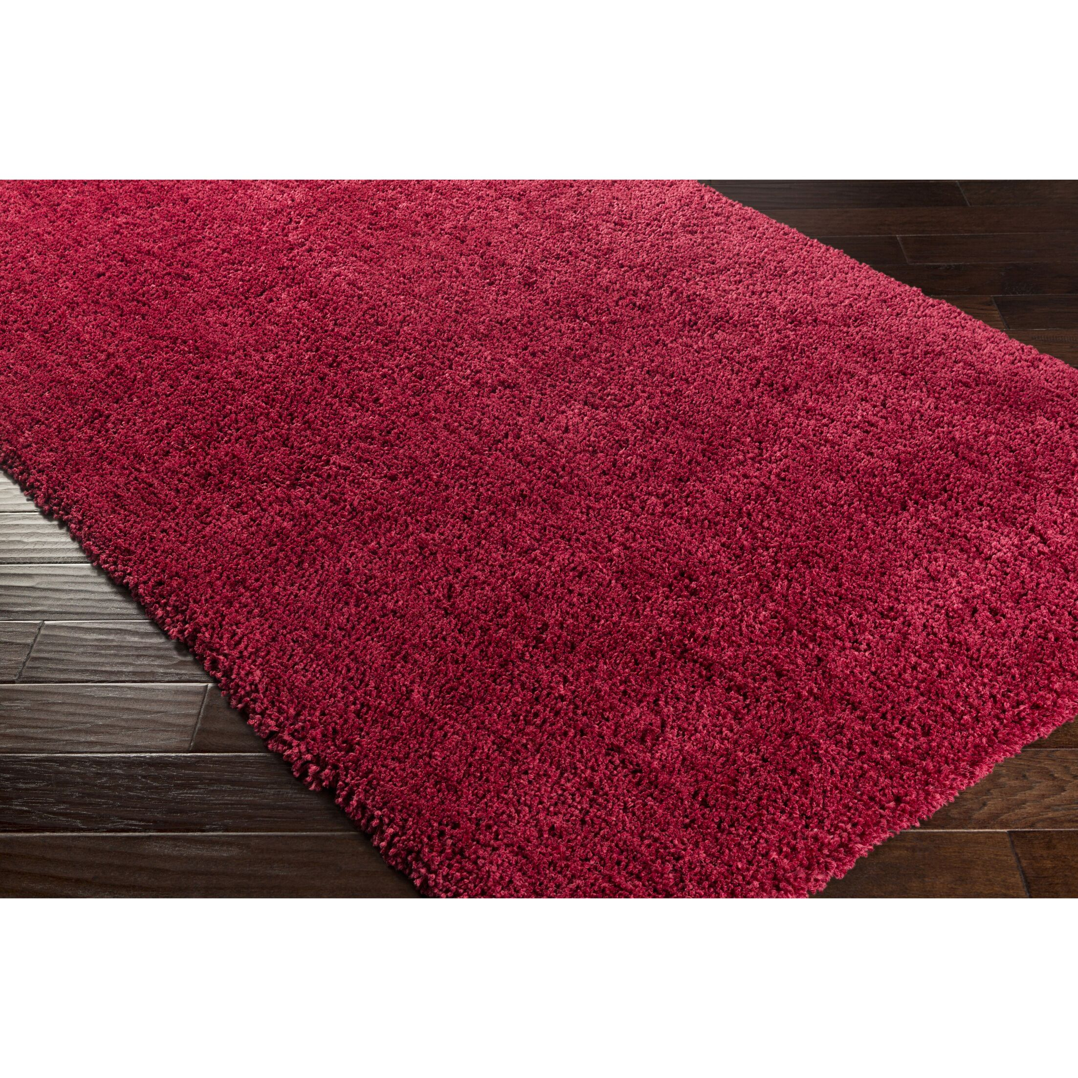 Martha Hand-Woven Red Area Rug Rug Size: Rectangle 8' x 10'6