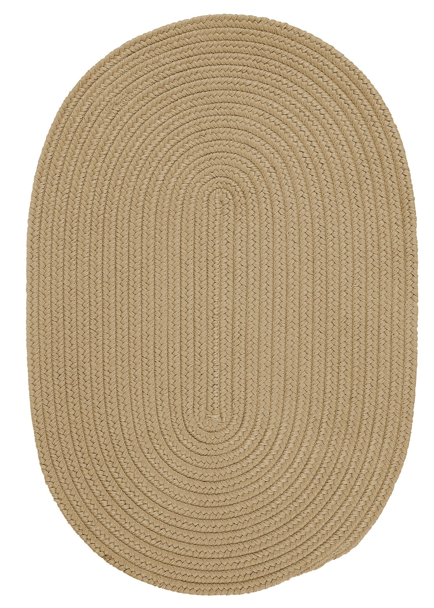 Mcintyre Cuban Sand Indoor/Outdoor Area Rug Rug Size: Oval 12' x 15'