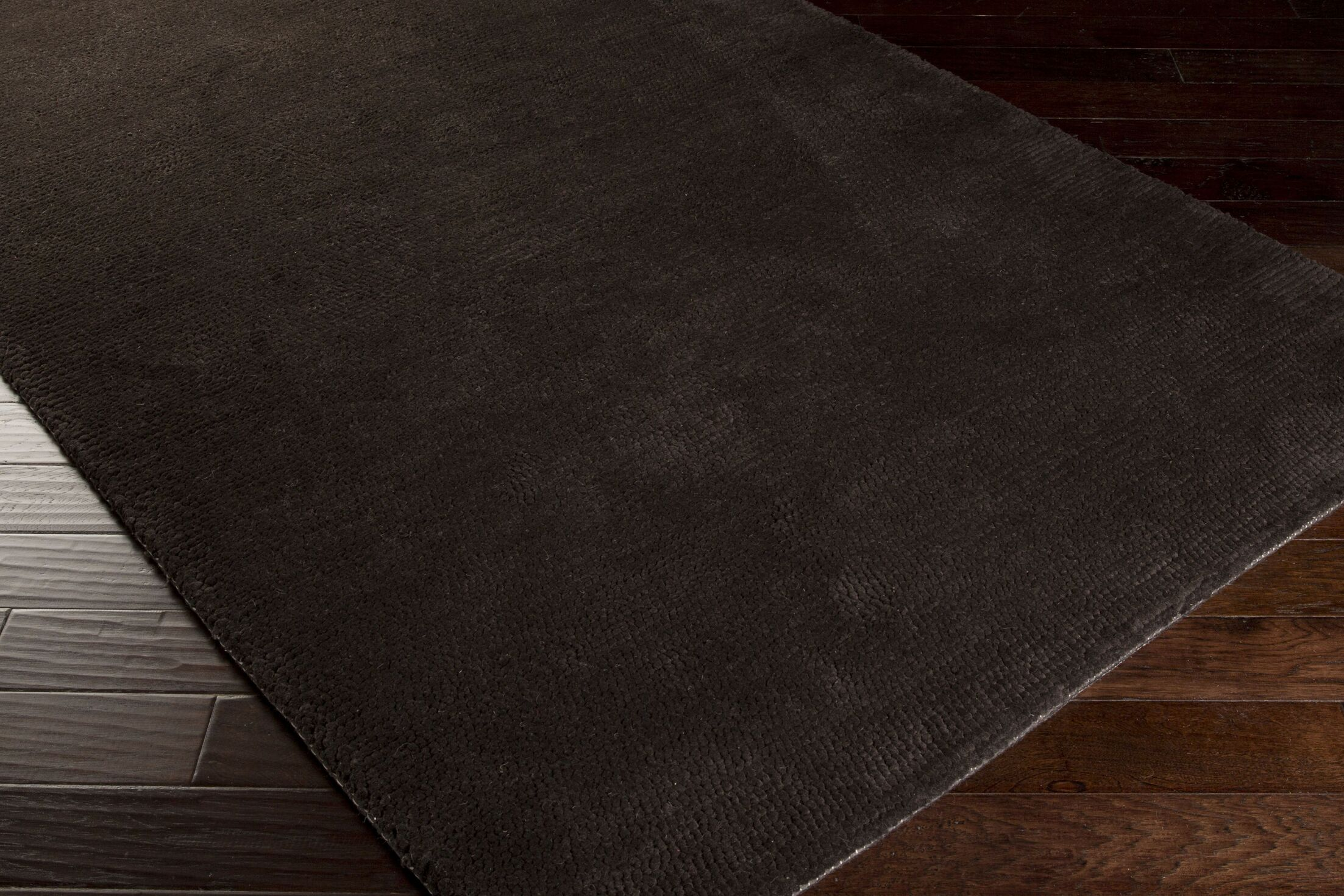 Tully Charcoal/Chocolate Area Rug Rug Size: Rectangle 5' x 8'