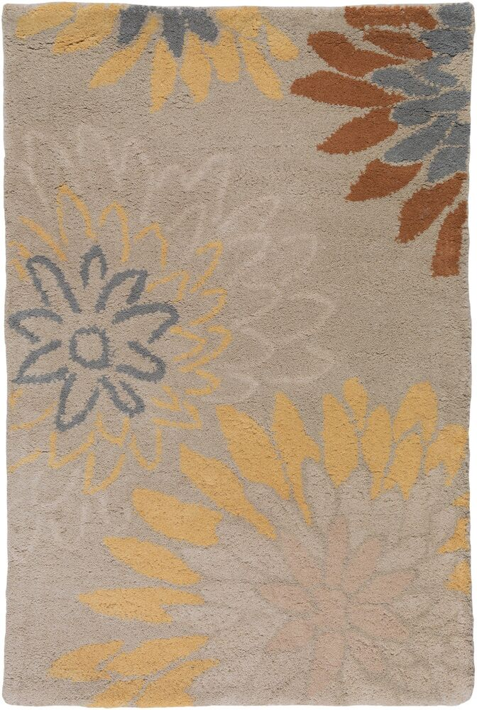 Hayden Oyster Gray Area Rug Rug Size: Rectangle 10' x 14'