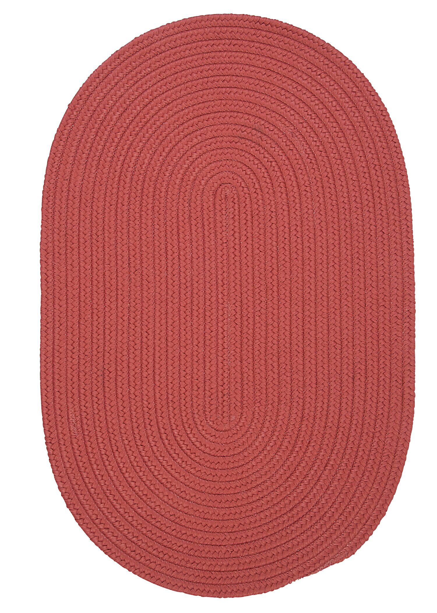 Mcintyre Terracotta Indoor/Outdoor Area Rug Rug Size: Oval 5' x 8'
