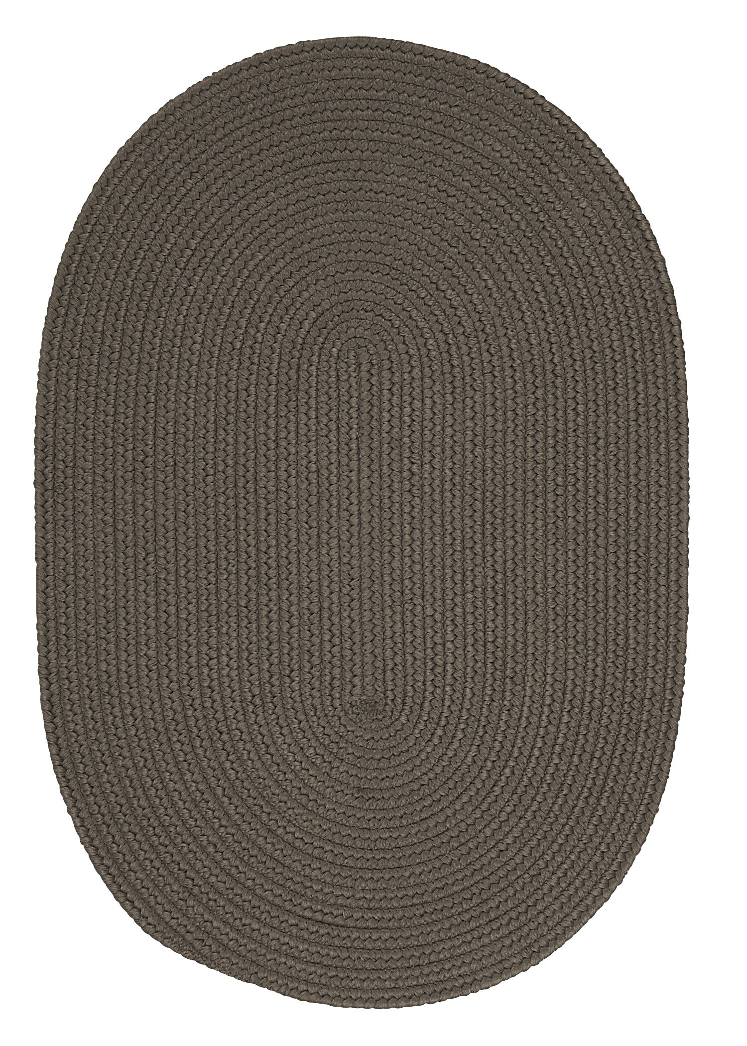 Mcintyre Gray Indoor/Outdoor Area Rug Rug Size: Oval 12' x 15'