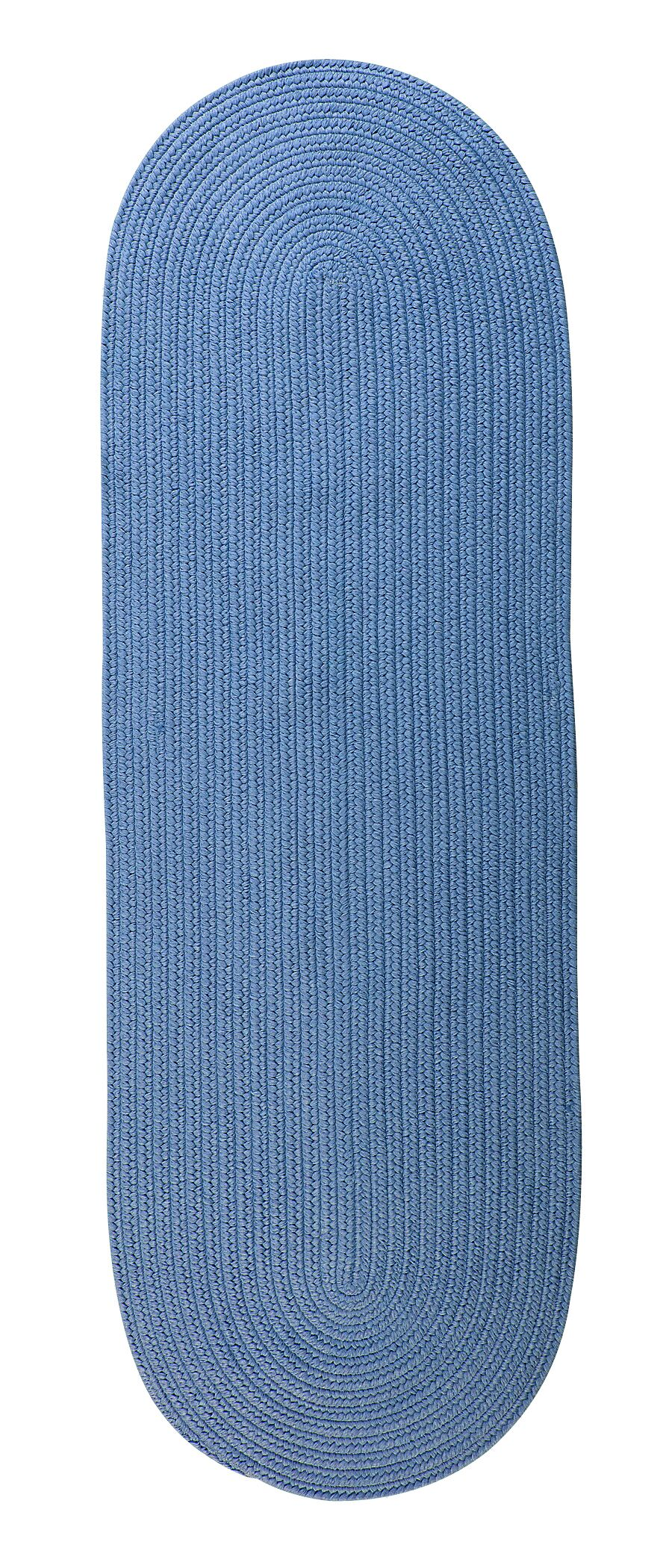Mcintyre Blue Ice Outdoor Area Rug Rug Size: Oval Runner 2' x 12'