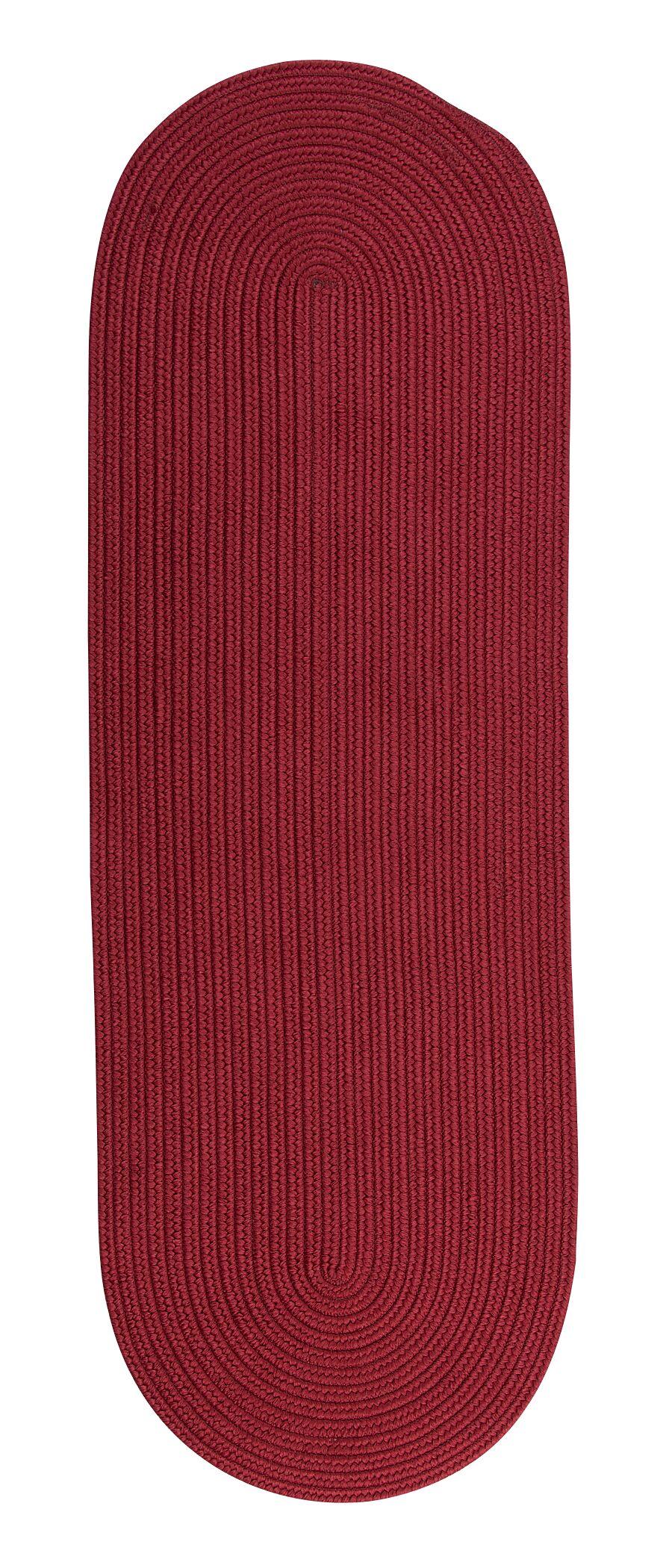 Mcintyre Sangria Indoor/Outdoor Rug Rug Size: Oval Runner 2' x 10'