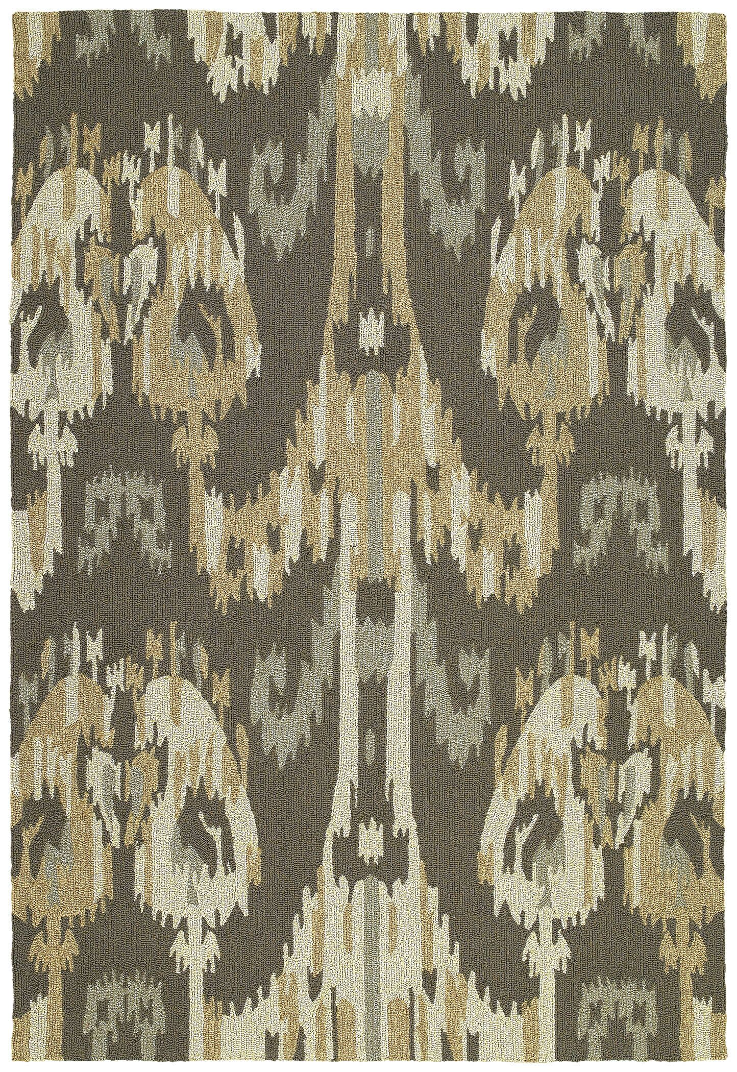 Cavour Graphite Floral Indoor/Outdoor Area Rug Rug Size: Rectangle 5' x 7'6