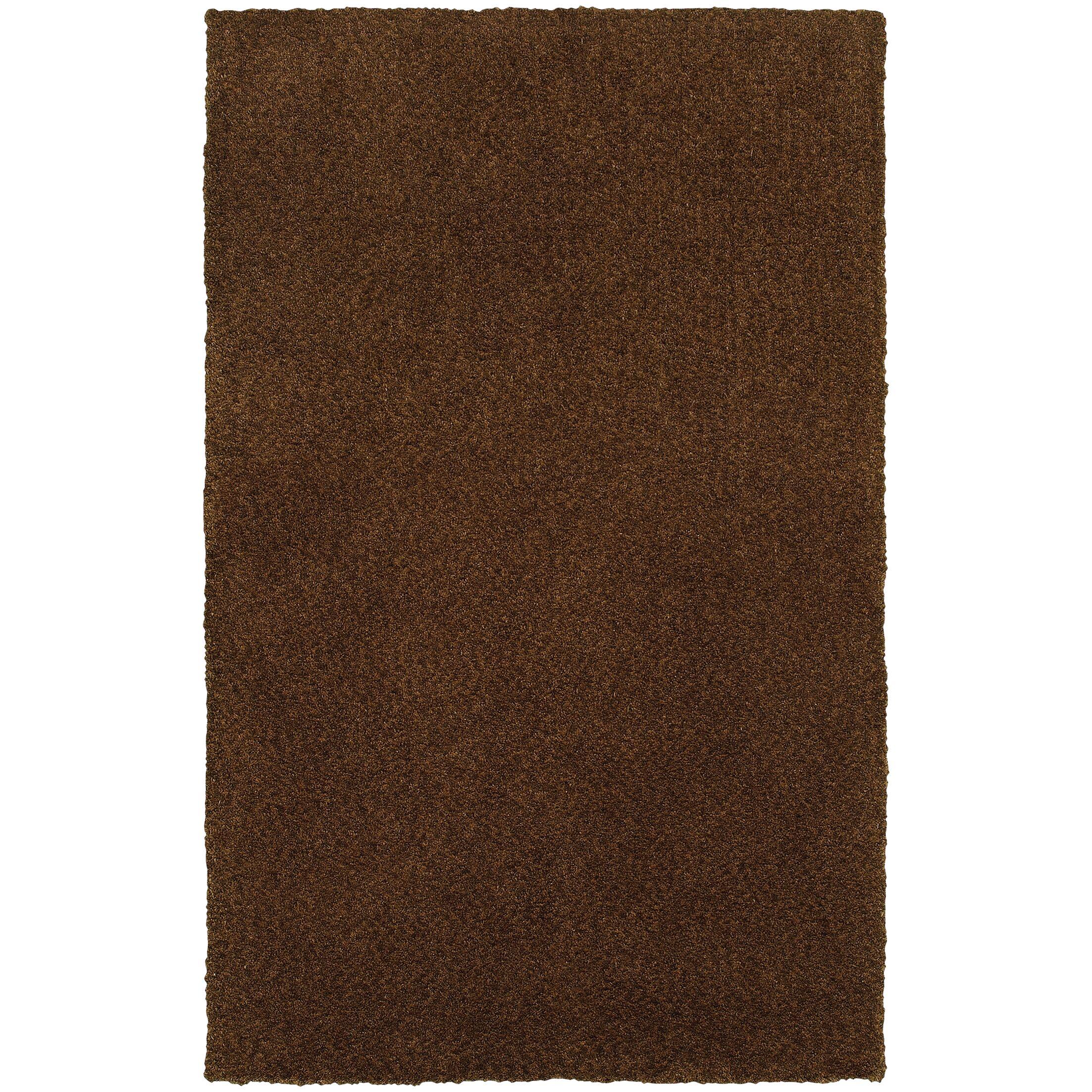 Toronto Hand-Tufted Brown Area Rug Rug Size: Rectangle 6'6