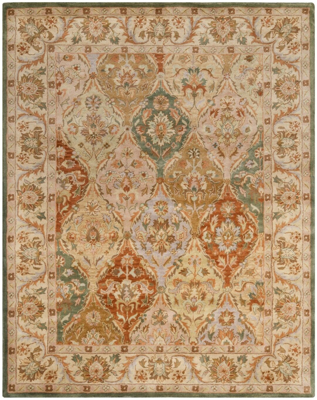 Albertine Hand-Tufted Area Rug Rug Size: Rectangle 5' x 8'