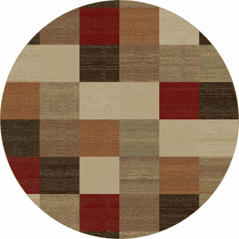 Winters Beige Squares Rug Rug Size: Rectangle 7'10