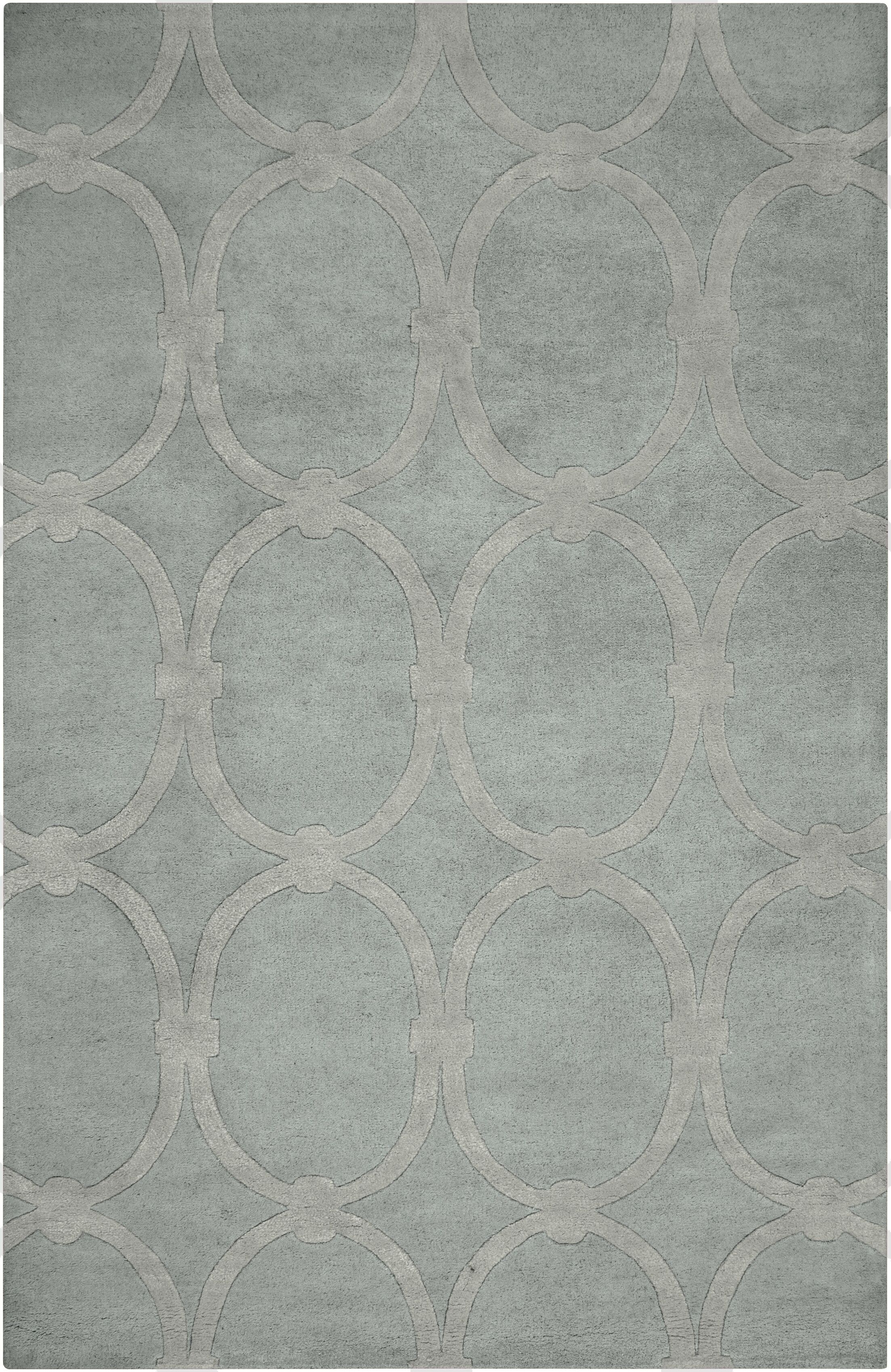 Alldredge Dove Area Rug Rug Size: Rectangle 3'3