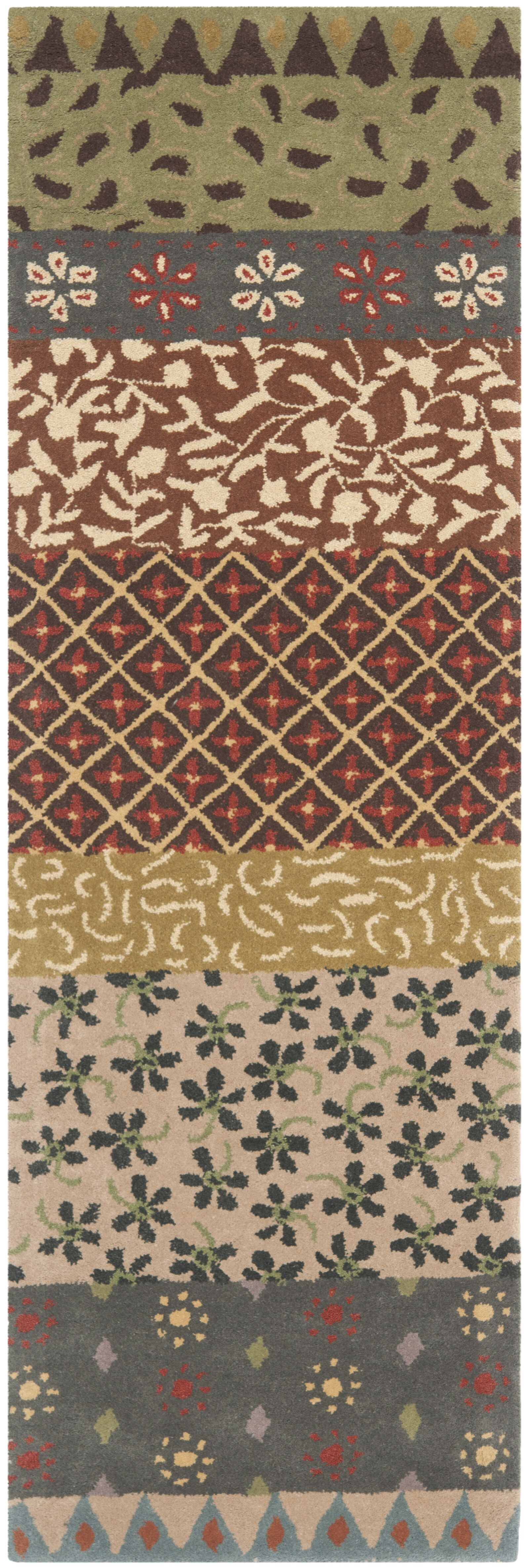 Mccullough Ivory Area Rug Rug Size: Runner 2'3