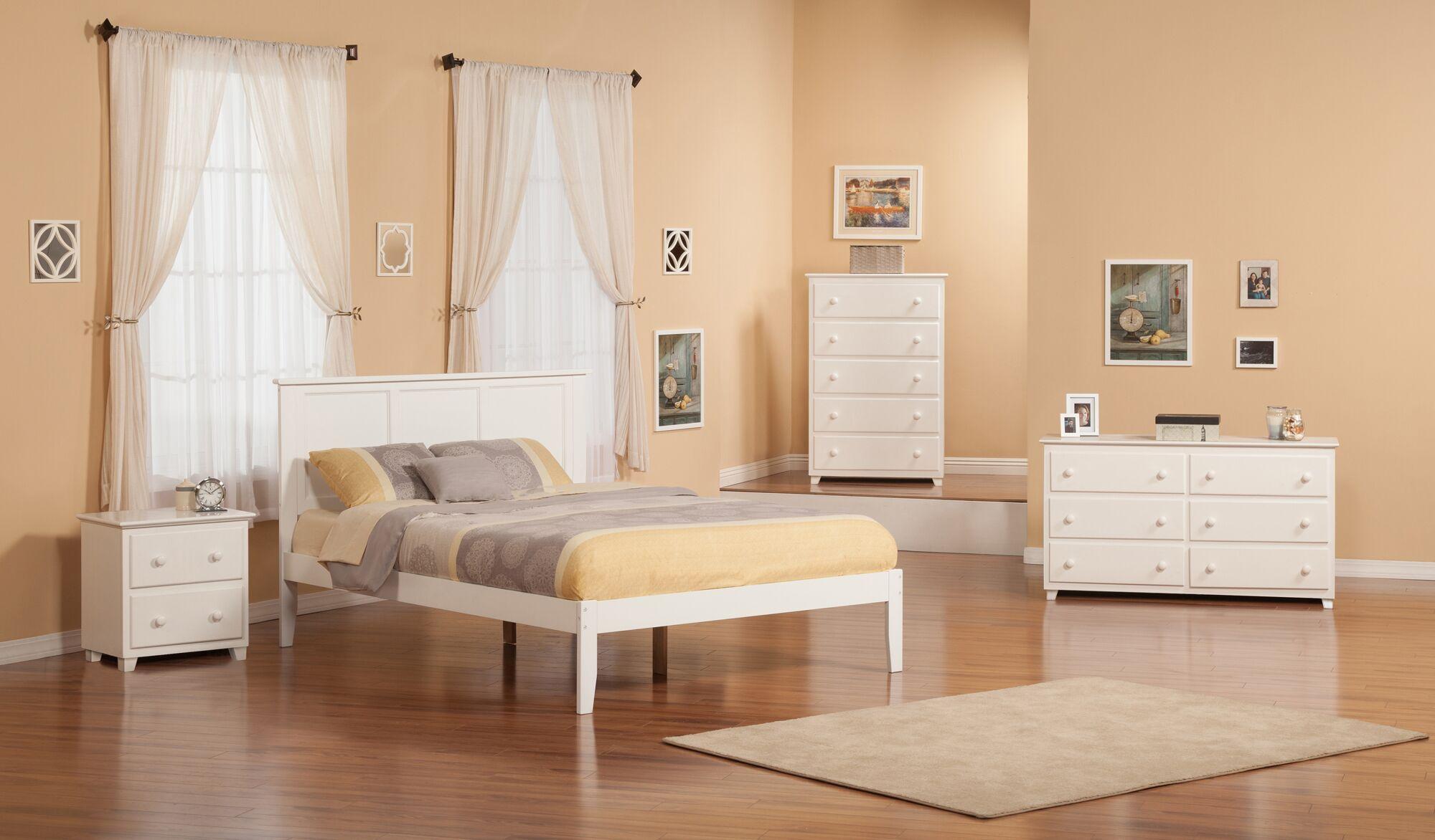 Marjorie King Panel Bed