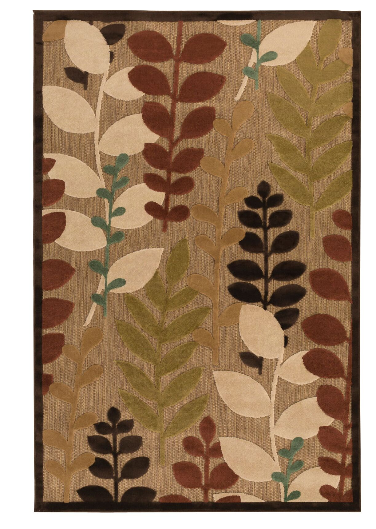 Wardell Floral Indoor/Outdoor Area Rug Rug Size: Rectangle 5' x 7'6