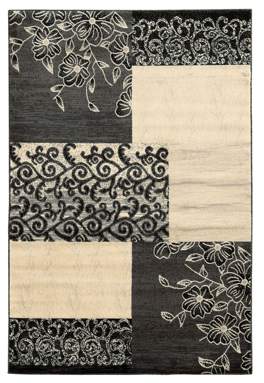Danica Grey Area Rug Rug Size: Rectangle 8' x 10'