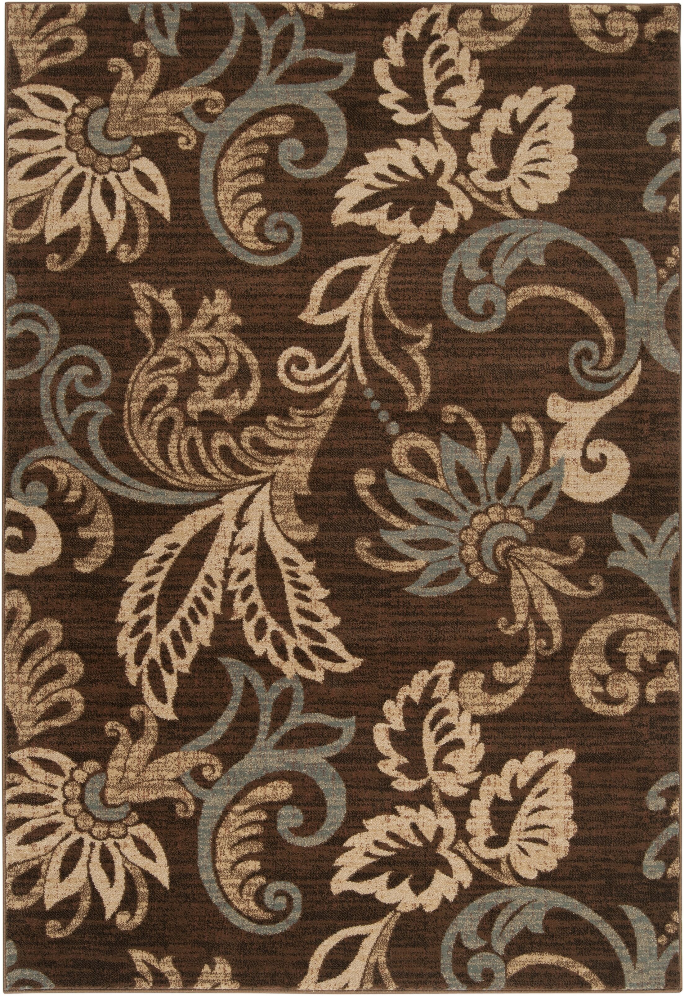 Acres Coffee Bean Area Rug Rug Size: Rectangle 5'3