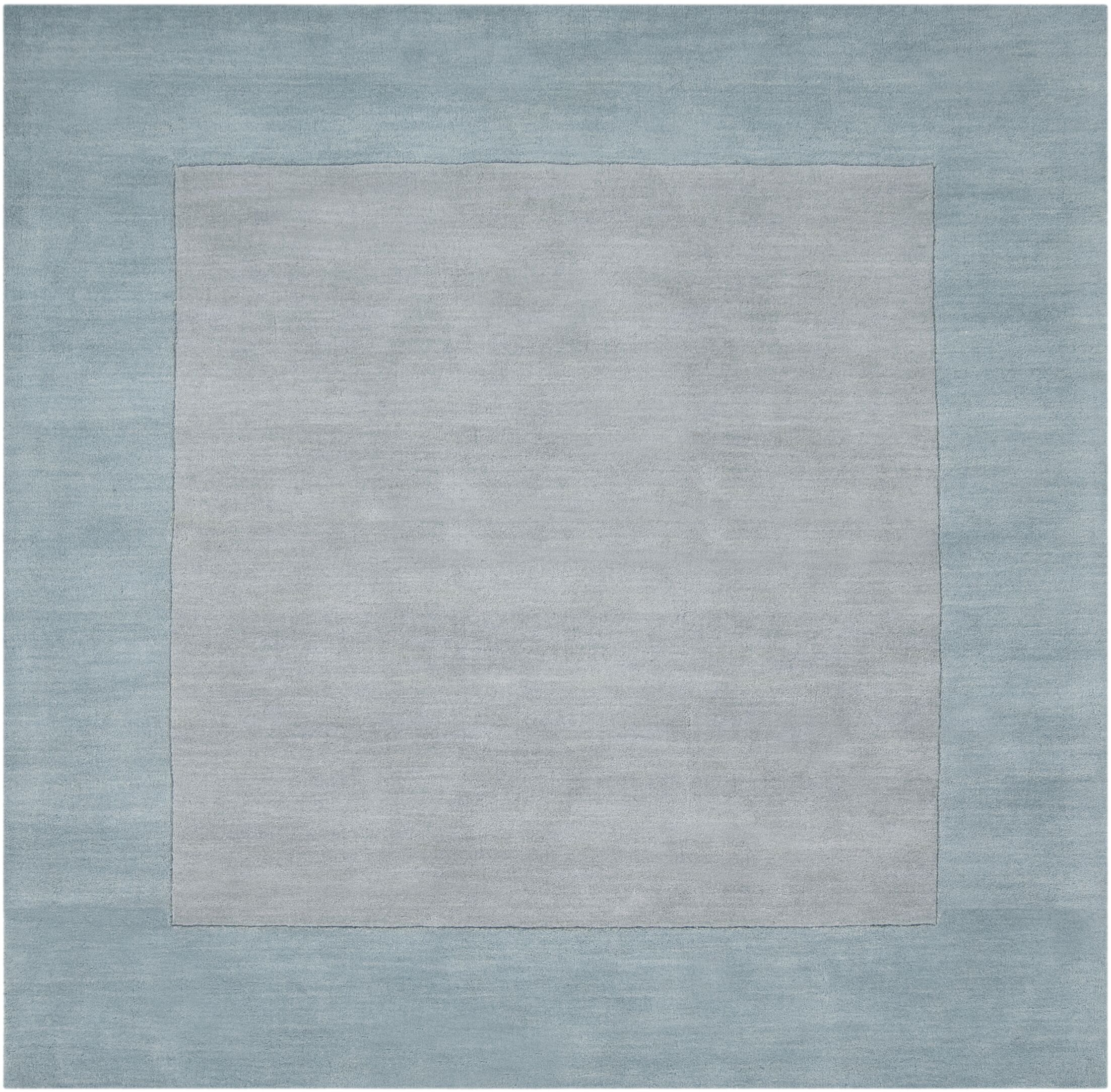 Bradley Hand Woven Silvered Gray Area Rug Rug Size: Square 8'