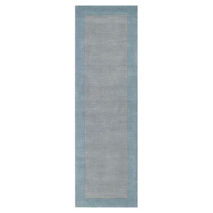 Bradley Hand Woven Silvered Gray Area Rug Rug Size: Runner 2'6