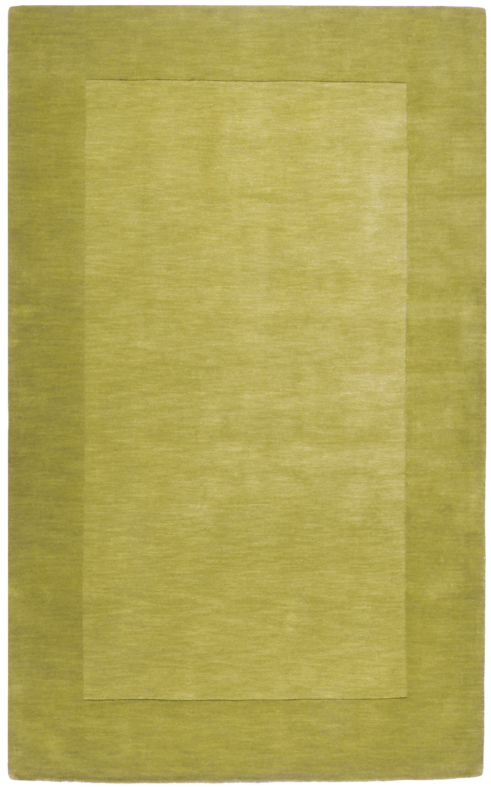 Bradley Hand Woven Moss Area Rug Rug Size: Rectangle 6' x 9'