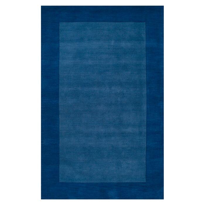 Bradley Blue Area Rug Rug Size: Rectangle 5' x 8'