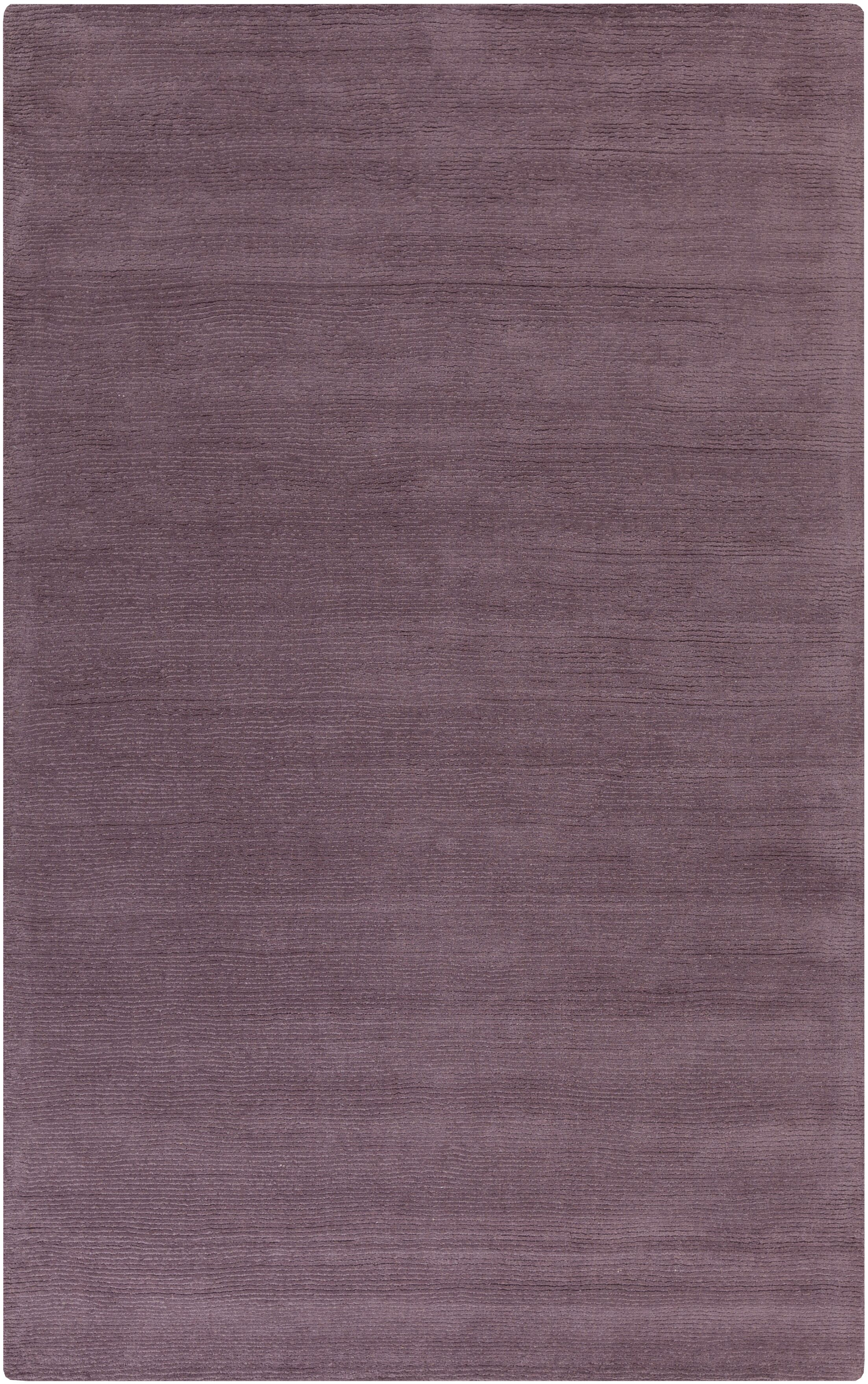 Naples Hand Woven Mauve Area Rug Rug Size: Rectangle 12' x 15'