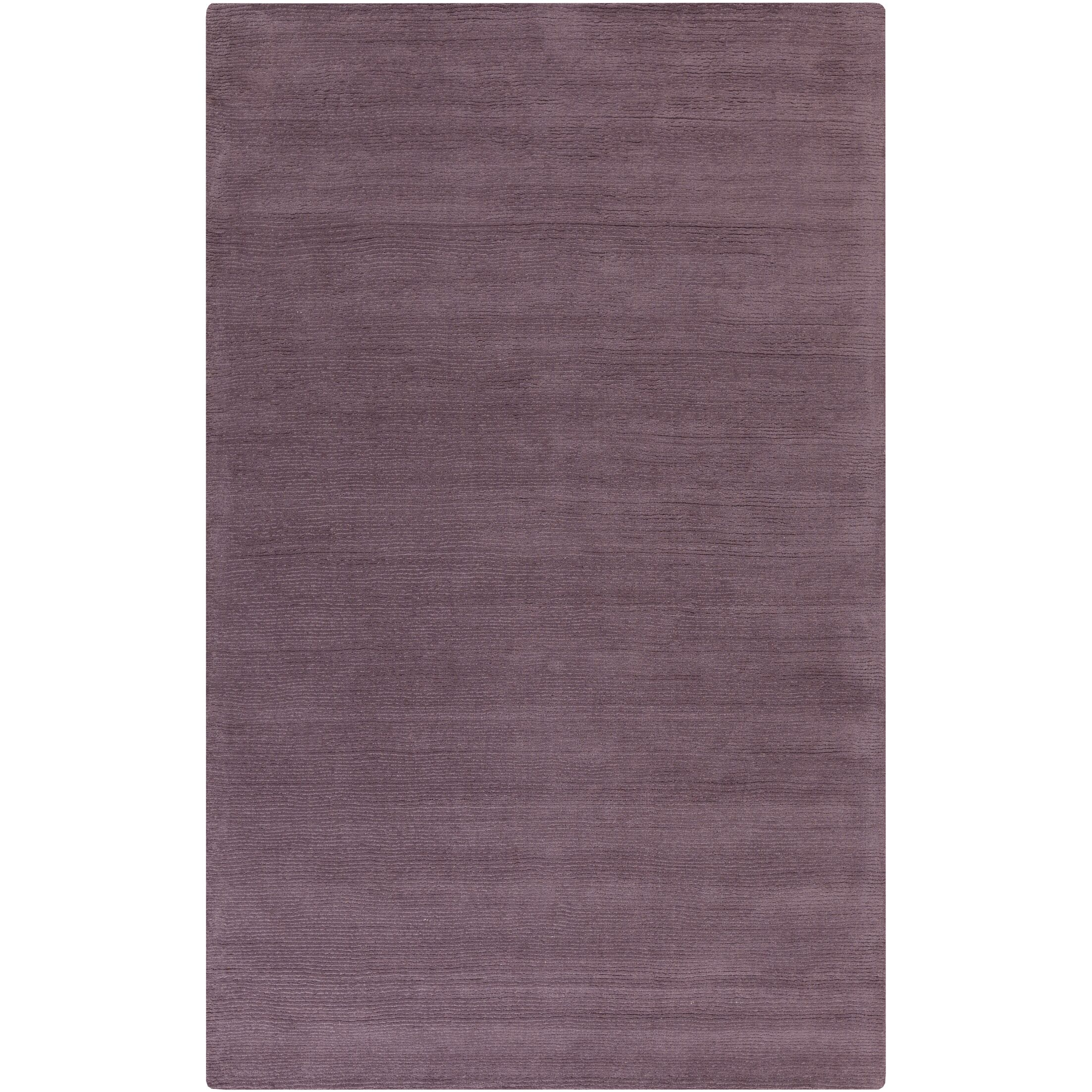 Naples Hand Woven Mauve Area Rug Rug Size: Rectangle 3'3