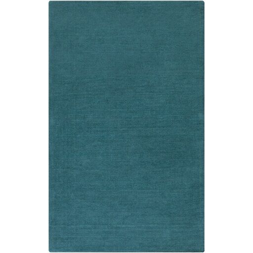 Naples Hand Woven Teal Area Rug Rug Size: Rectangle 12' x 15'