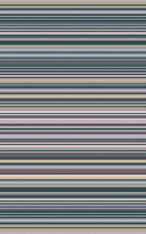 Bradley Stripe Area Rug Rug Size: Rectangle 5' x 8'