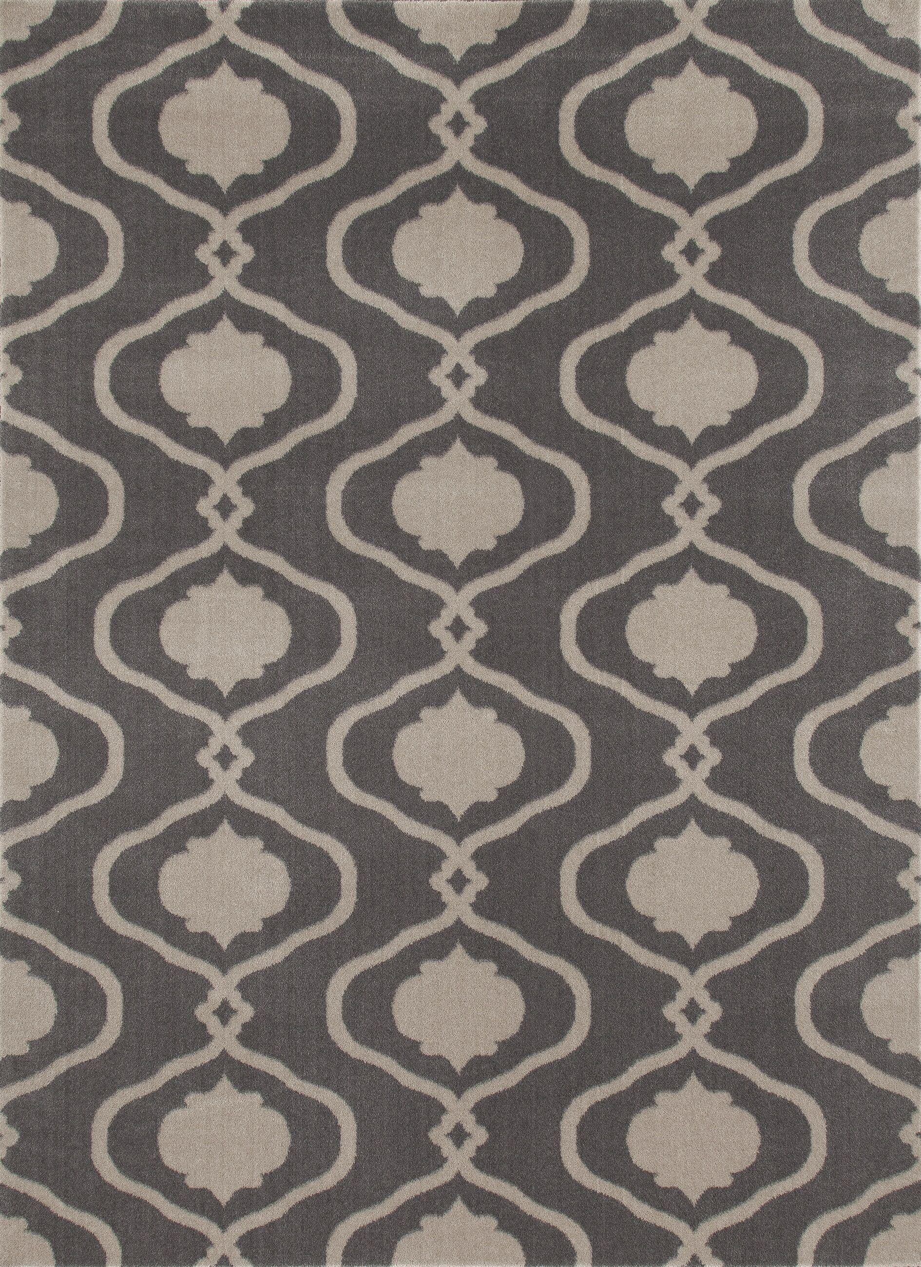 Coffman Gray Area Rug Rug Size: Rectangle 9' x 12'