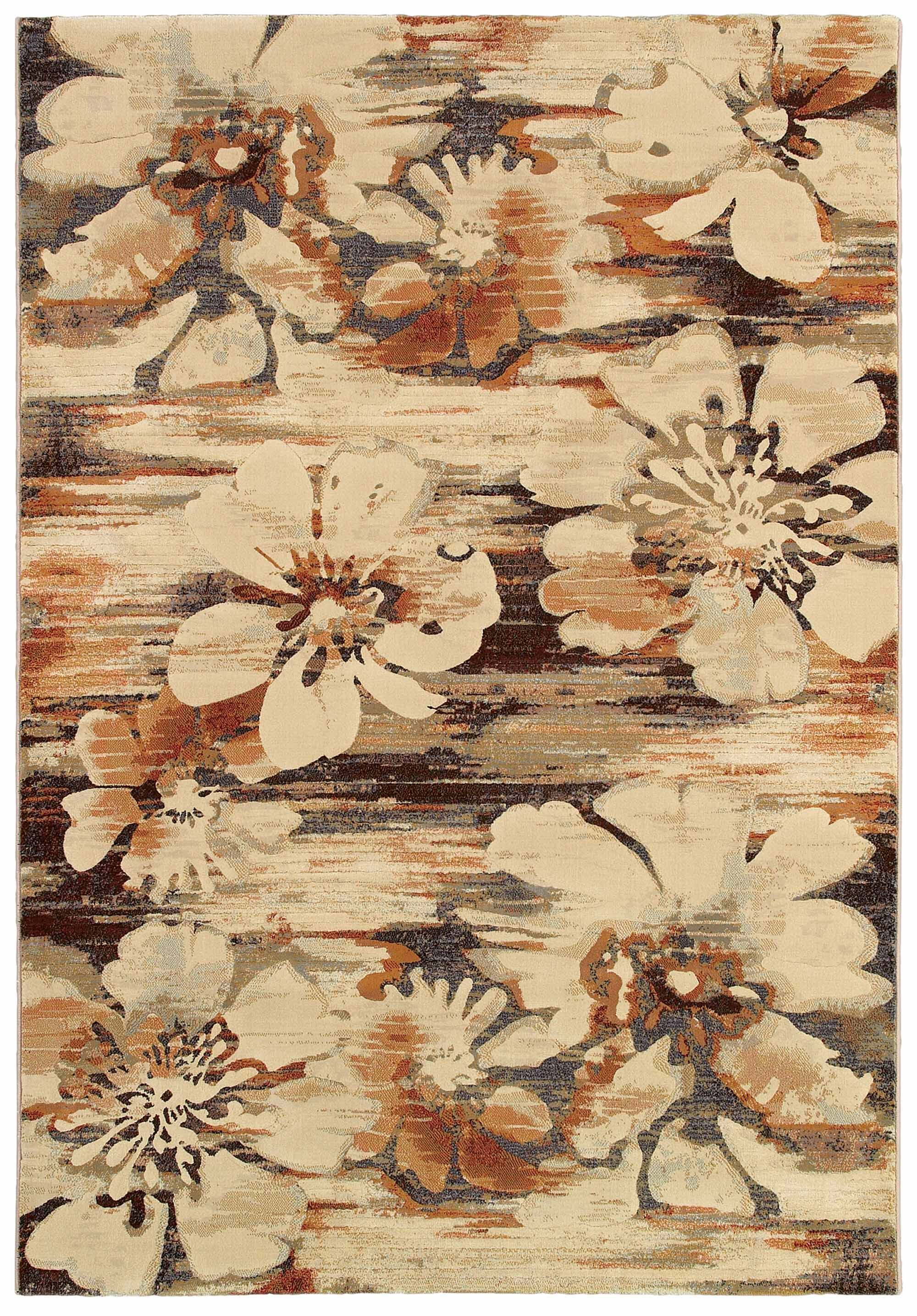 Berger Mosaic Florals Rug Rug Size: Rectangle 3'11