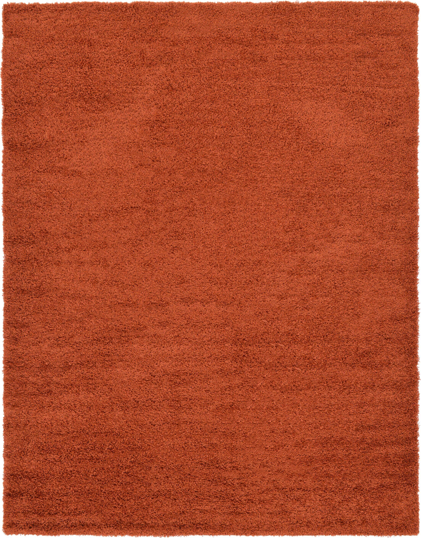 Rabinowitz Terracotta Area Rug Rug Size: Rectangle 9' x 12'