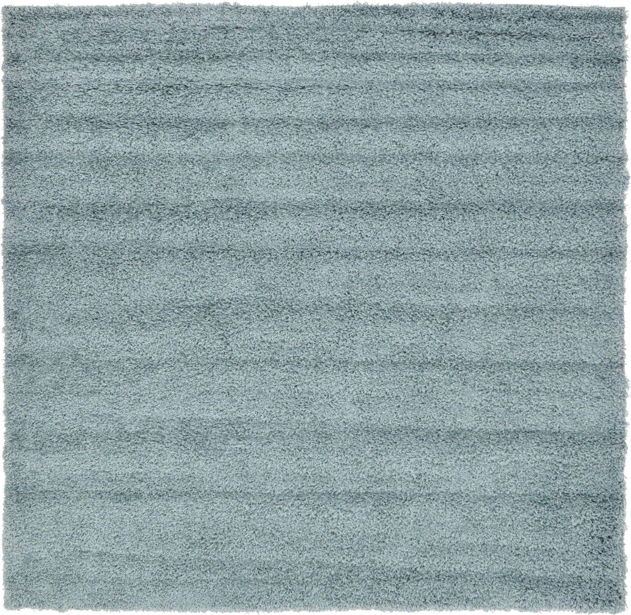 Lilah Light Blue Area Rug Rug Size: Square 8'2