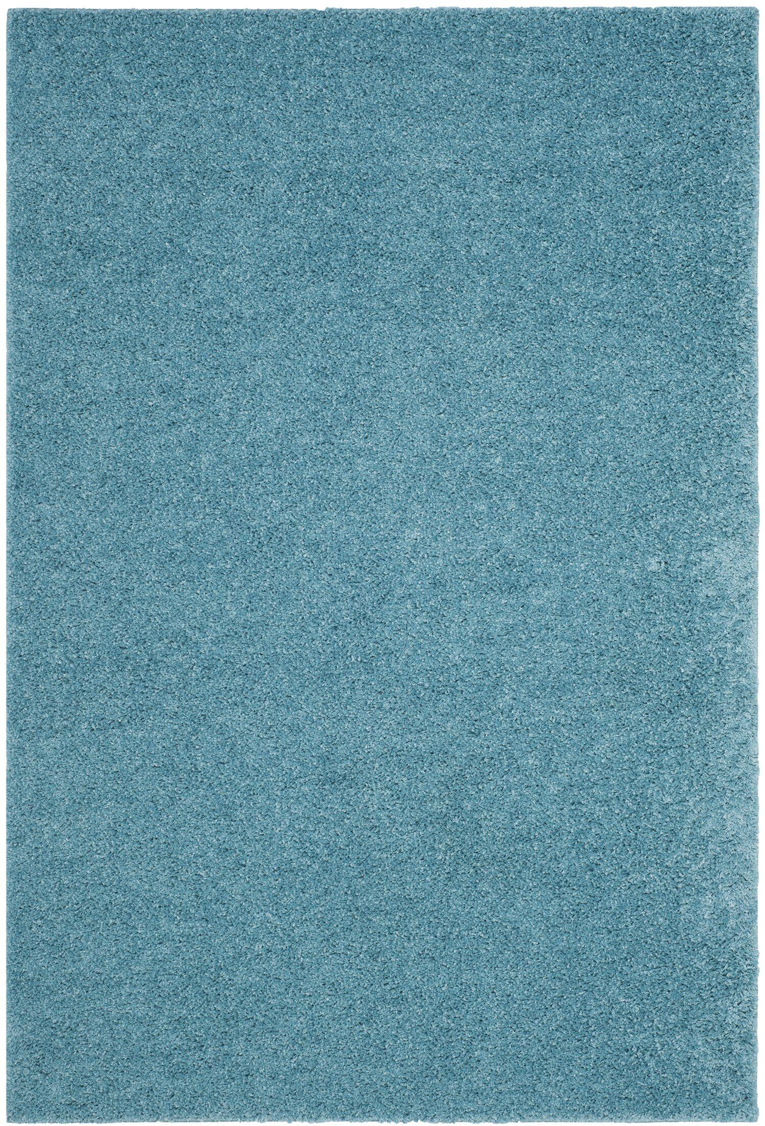 Curran Aqua Area Rug Rug Size: Square 6'7