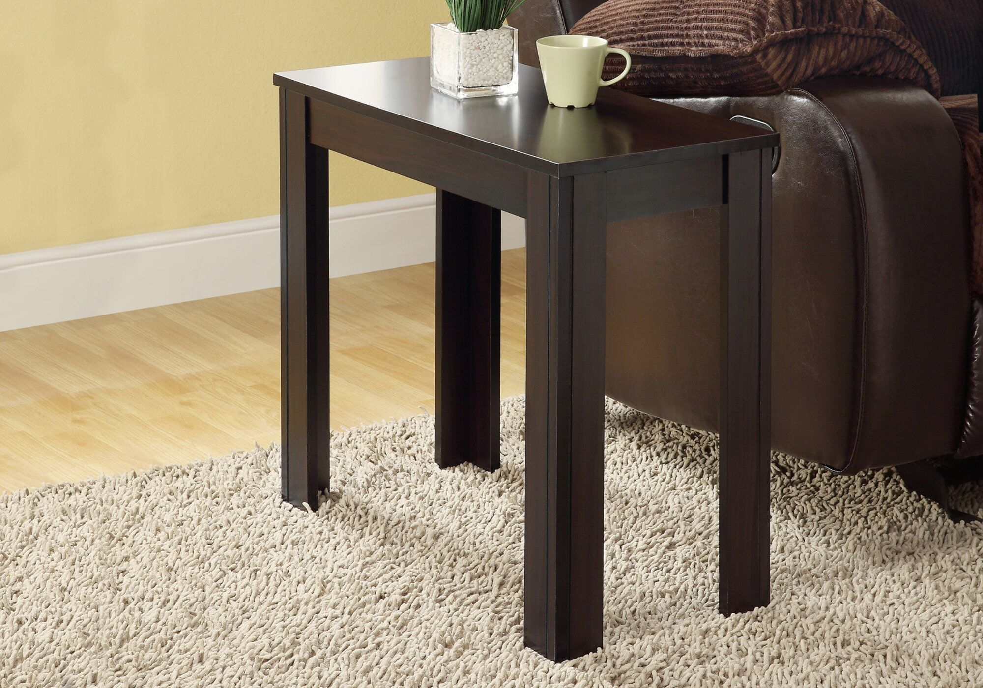 Maurice End Table Color: Cappuccino