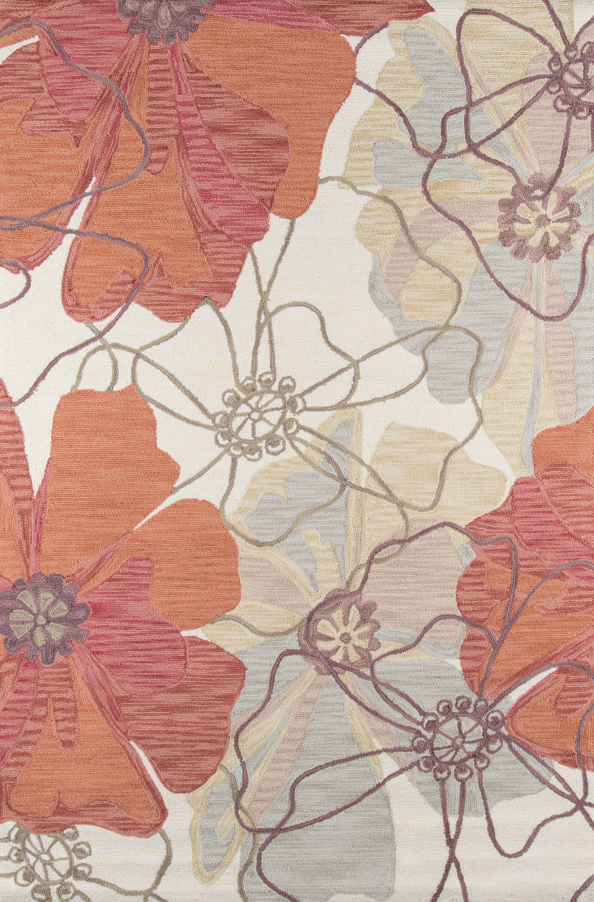 Unionville Hand-Woven Cream/Brown Area Rug Rug Size: Rectangle 5' x 7'6