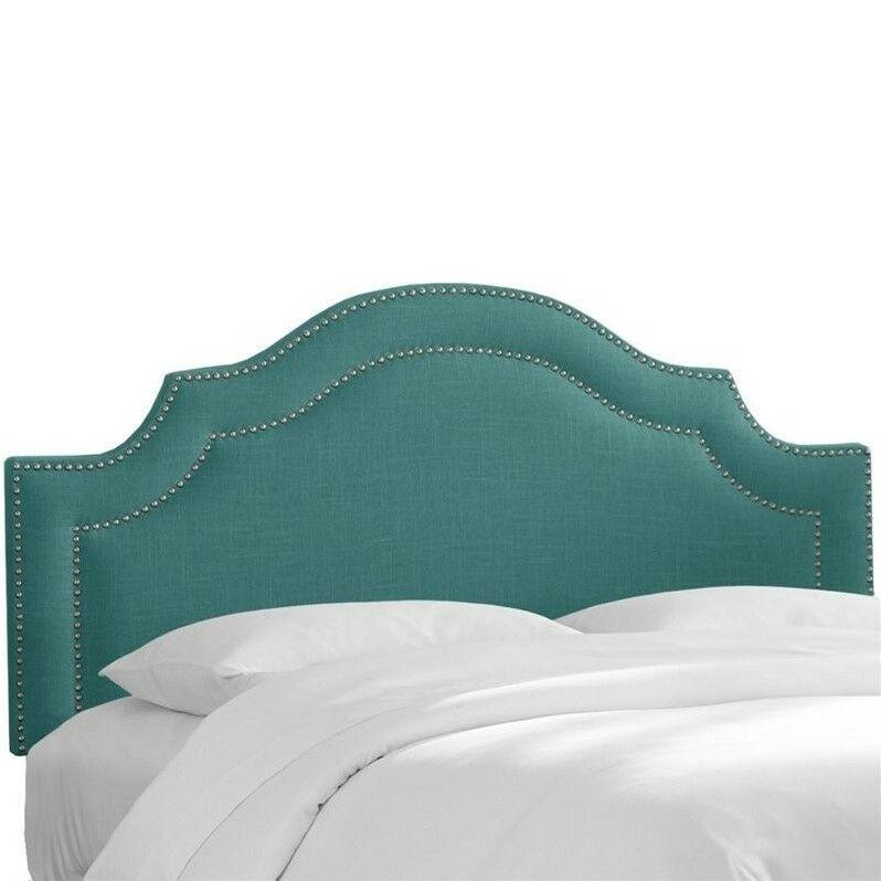 Fleischmann Arch Upholstered Panel Headboard Upholstery: Laguna, Size: King
