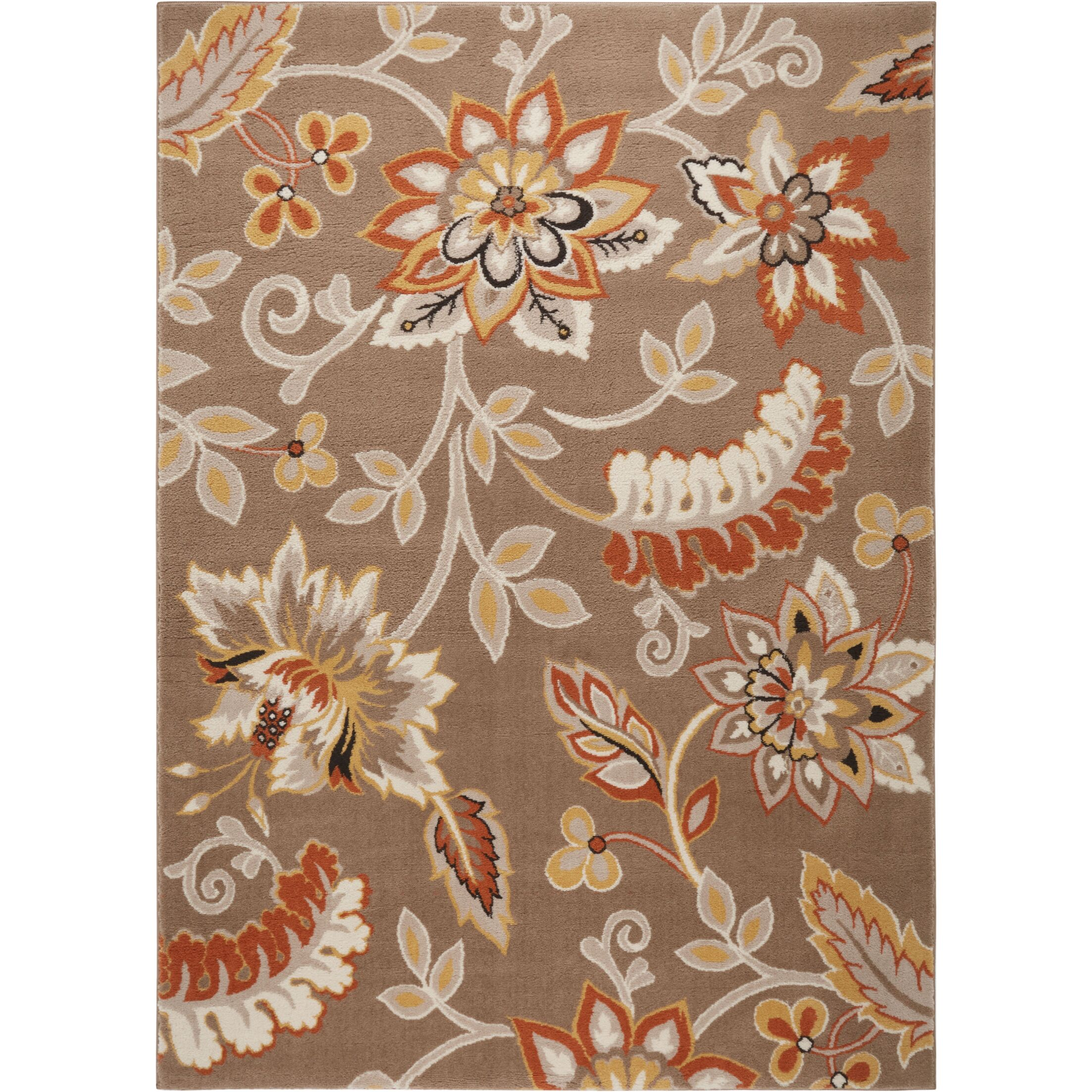 Selina Hand Tufted Brown Area Rug Rug Size: Rectangle 7'10