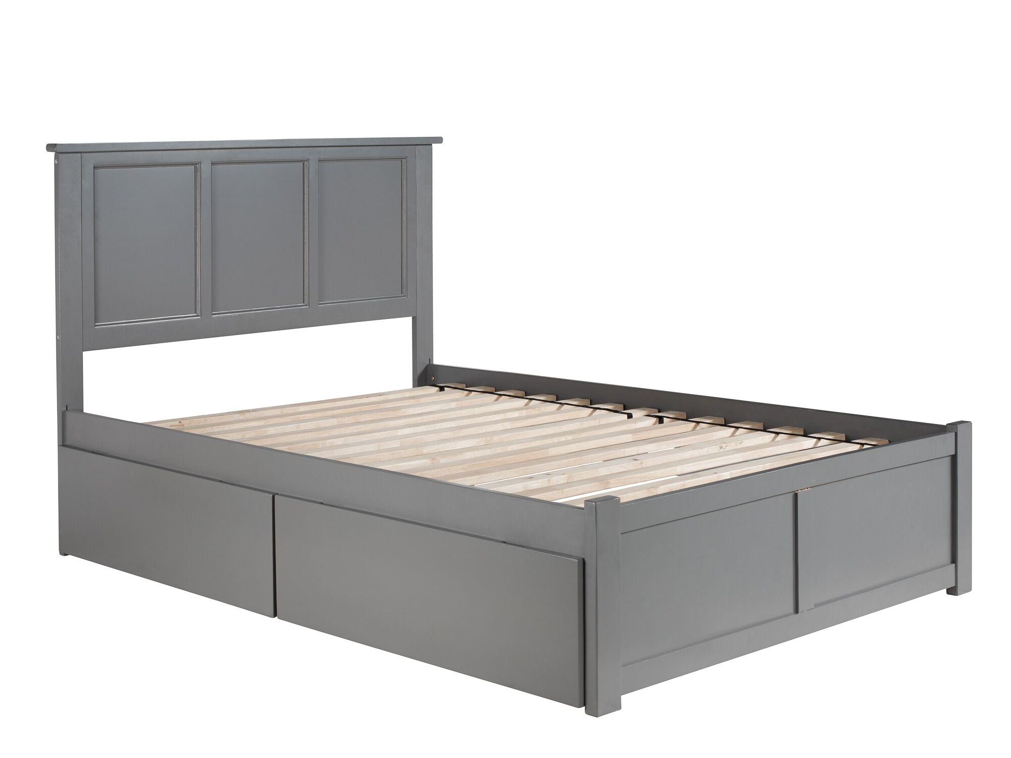 Tallmadge Storage Platform Bed Size: Full, Color: Light Gray