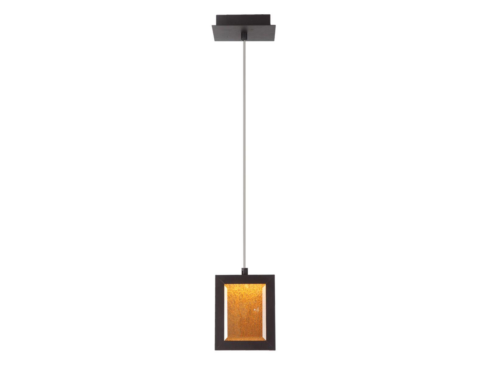 Robinette 1-Light Mini Pendant Color: Dark Bronze, Size: 8