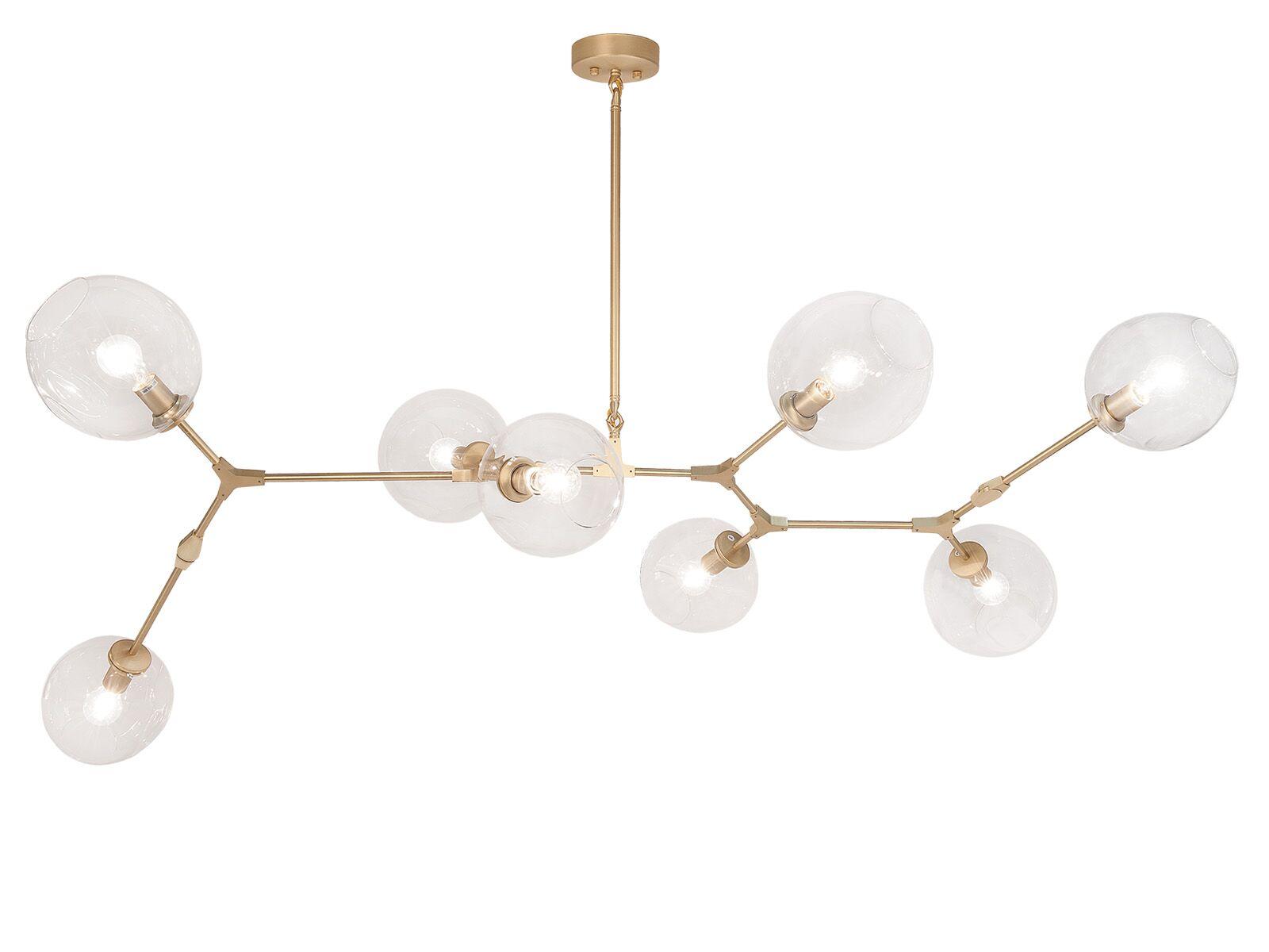 Grier 8-Light Sputnik Chandelier Finish: Brushed Brass