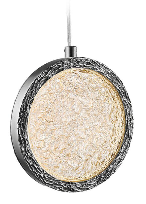 Holmberg  LED Geometric Pendant Finish: Polished Nickel