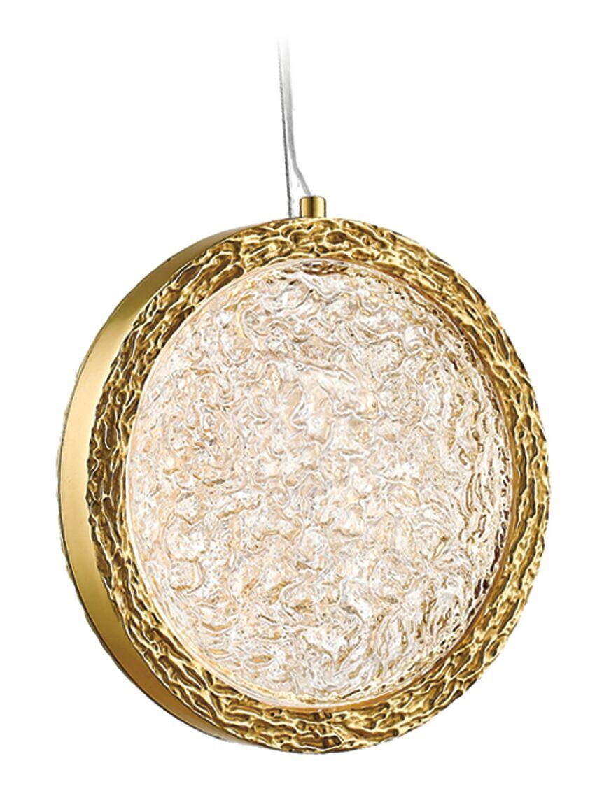 Holmberg  LED Geometric Pendant Finish: Polished Brass