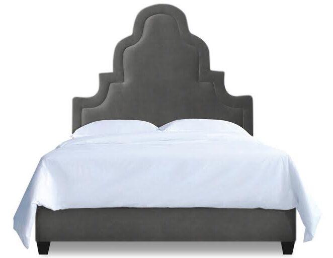 Meela Upholstered Platform Bed Size: Full, Color: Slate