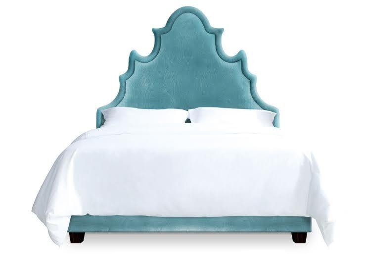 Sophie Upholstered Platform Bed Size: Full, Color: Turquoise
