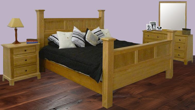Artimacormick Queen Panel Configurable Bedroom Set