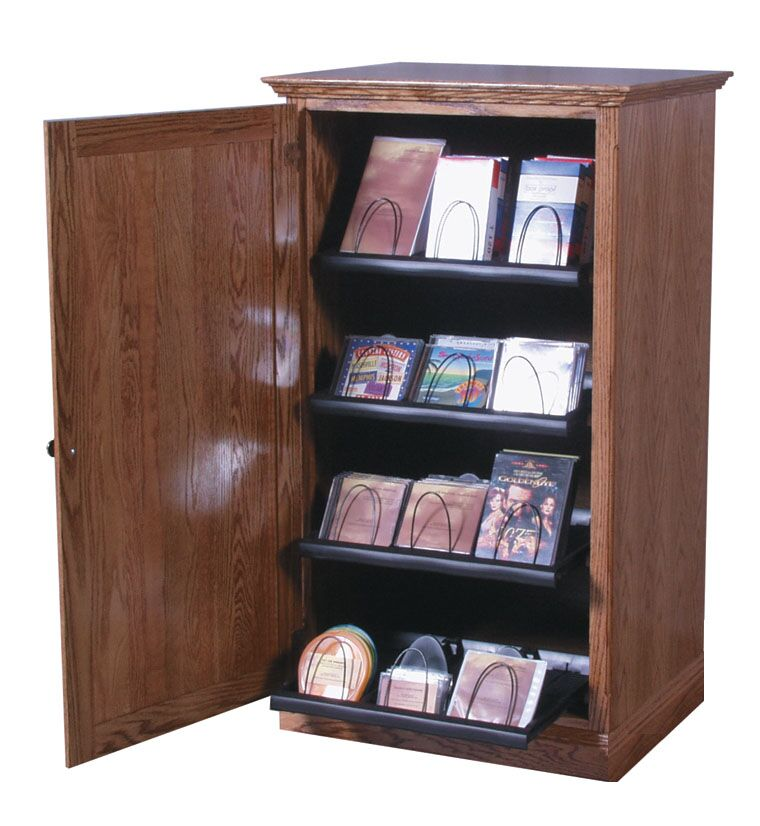 Multimedia Cabinet Color: Golden Oak
