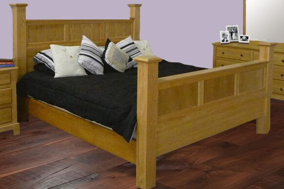 Artimacormick Queen Panel Bed Color: Black Adler