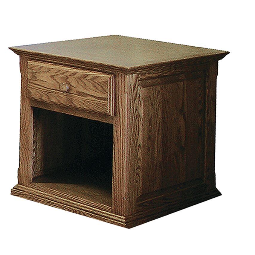 Lagasse End Table Color: Antique Alder