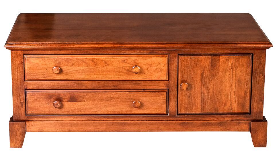 Jeremy Coffee Table Color: Antique Alder