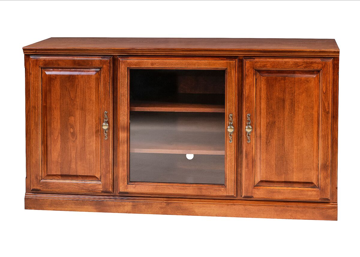 Mcneill TV Stand Color: Red Oak