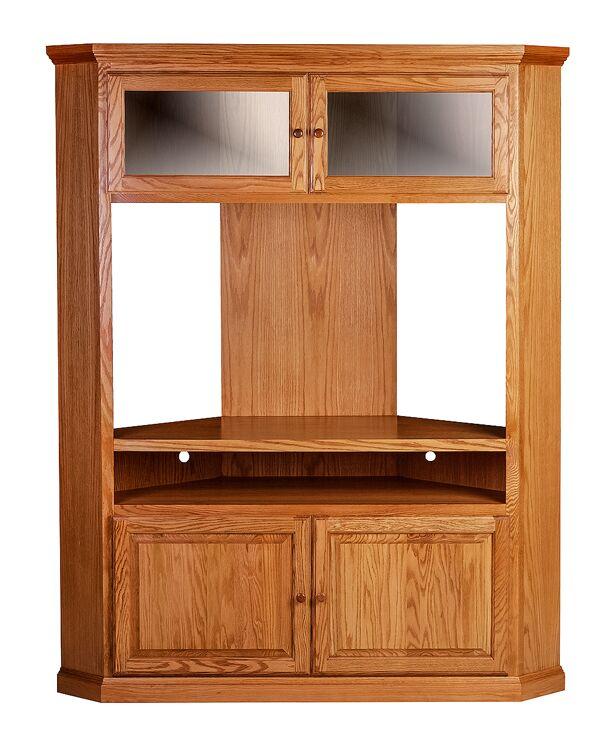 Mueller TV Stand Color: Golden Oak