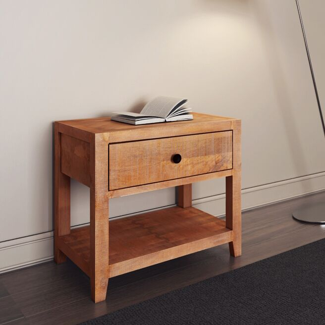 Antonucci 1 Drawer Nightstand Color: Natural